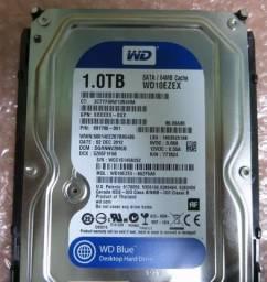 HD Western Digital 1tb Sata III Caviar Blue 7200rpm 6gb/s semi-novo