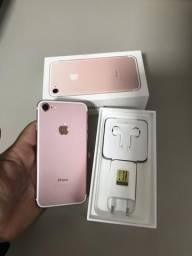 IPhone 7 32GB Rose - impecável - Garantia Até Janeiro