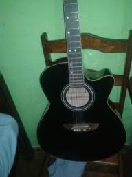 Vendo ou troco violão austin