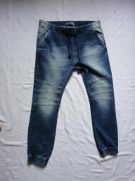 e976e36cf79 Calças jeans tam 44 e 42