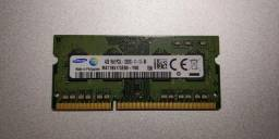 Memoria Notebook 4gb Ddr3l-1600 1rx8 12800s M471b5173cb0-yk0