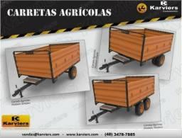 Carretas, Basculantes e Tanques Agricolas - Karviers