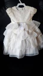 Lindo vestido - Bege