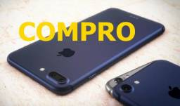 Compro iphone 7 ou superior $$a vista $$