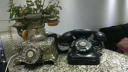 Telefones antigos para decoração