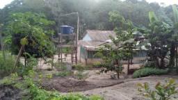 Vendo terreno com casa lindo sitio