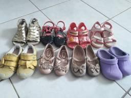 Lote de sapatos n.24