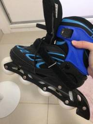 Patins oxer azul