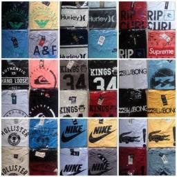 Camisas de marcas variadas!