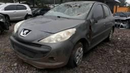 Peugeot 207 1,4 flex vendido em peças