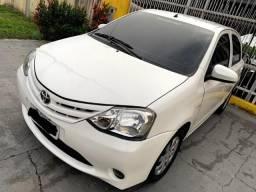 Toyota Etios sedan motor 1.5 2015 completo aceito financiamento - 2015