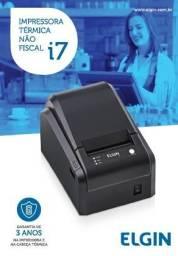 Impressora não Fiscal Elgin I7 usb serial