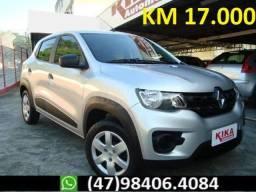 Renault Kwid 1.0 ZEN 4P 12V - Completo - Apenas 17.000 mil KM - 2018