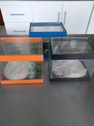 3 mini aquário