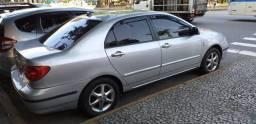 Toyota corolla xei 2004 PRATA. mecânico com gnv
