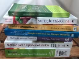 Livro nutrição Krause , alimentos , exercícios físicos