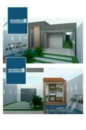Casa com Piscina e Churrasqueira por R$290mil