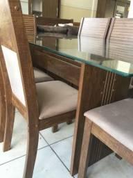 Mesa havai 6 cadeiras nova