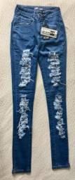 Calça Jeans Skinny/NOVA