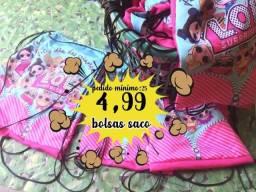 Bolsas saco mochila personalizada