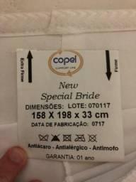 Colchão Copel Queen Size + Cama Box