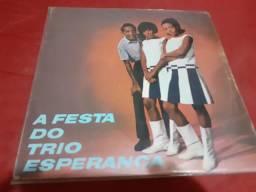 Disco LP A Festa Do Trio Esperança