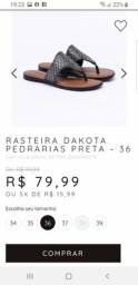 Rasteira Dakota N°36