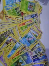 Lote Com Mais De 200 Cartas Pokemon Rara, Incomum, Comum