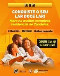 MM, 2 quartos Queiroz Galvão-Candeias na faixa de 159 Mil. What