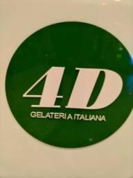 Gelateria Italiana 4D ( sorvete)
