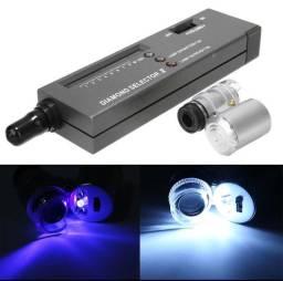 Detector Diamante +microscópio joalheiro