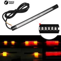Placa de Luz LED Seta / Luz de Freio para Traseira / Placa de Motocicleta