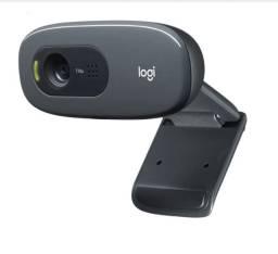 Webcam Logitec Original Para Computador e Notebook