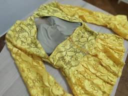 """Blusa Amarela de Griph """"grife linda de viver"""""""