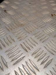 Chapas de aluminio