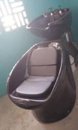 Lavatorio e cadeira semi novo