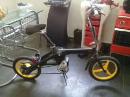 Bicicleta eletrica dobravel importada
