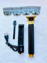 Máquina de acabamento de cabelo e barba