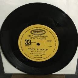 EP - Vinil - Compacto - Tony Ronald - Help / Once Upon A Time