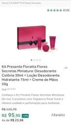 Kit Presente Floratta Flores Secretas Boticário