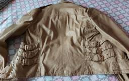 Título do anúncio: Jaqueta de couro ecológico nova