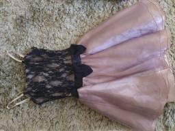 Título do anúncio: Vestido de festa tamanho 16 anos