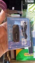 adaptador Bluetooth pra som de carro e residencial