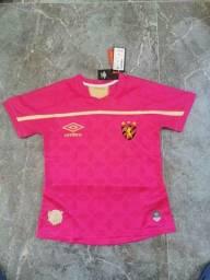 Camisa do Sport Rosa - 2020