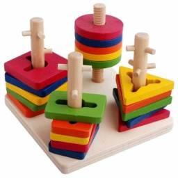 Brinquedo pedagógico Infantil em Madeira