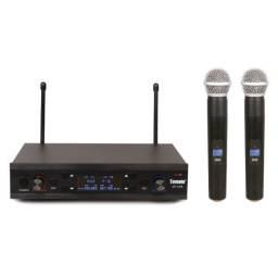 Microfone sem fio Wireless tomate MT-2207
