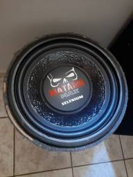 Vendo auto falante de 12 matador 600rms bobina dupla