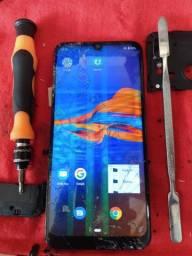 Tela completa Motorola E6 plus com instalação e película de vidro grátis