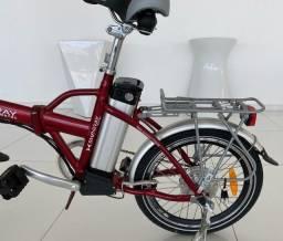 Bicicleta elétrica Shineray dobrável