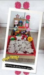 Kits de pintura em gesso infantil